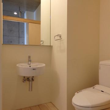 洗面台+トイレという空間