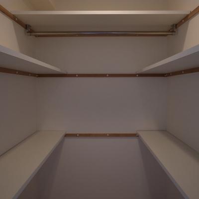収納バッチリ※写真は別部屋です。