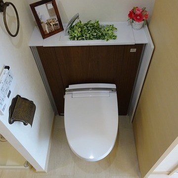 トイレと脱衣は同室です