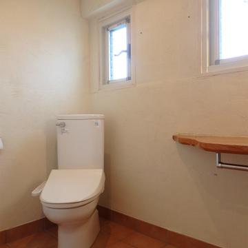 トイレも同室。広々としていて使い勝手がいいです