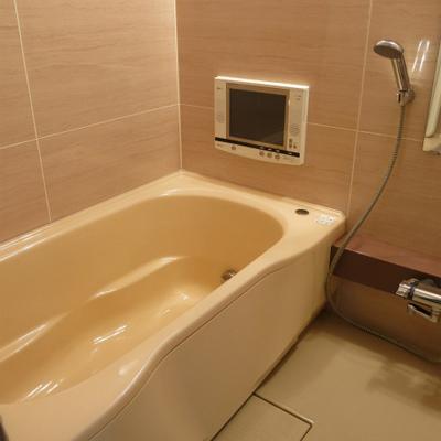 ゴージャスTV付の風呂※写真は別部屋