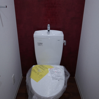 清潔感のあるトイレ。