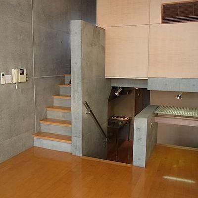 デザイナーズマンションのお手本のようなお部屋です。※画像は同じ間取りの別室です