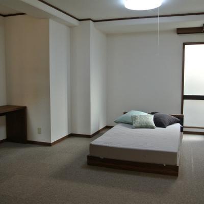 寝室はこのような感じ※写真は別室