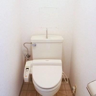 トイレはすっきりと