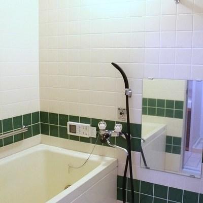 お風呂のタイルがかわいい!