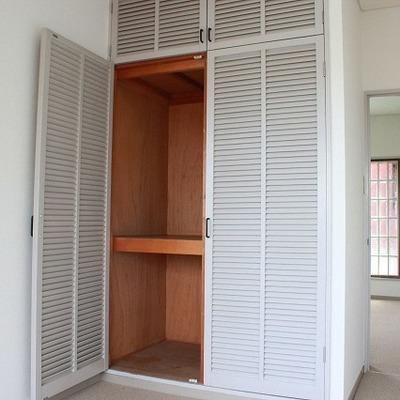収納スペースも各部屋あります