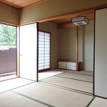 和室も2間あり。