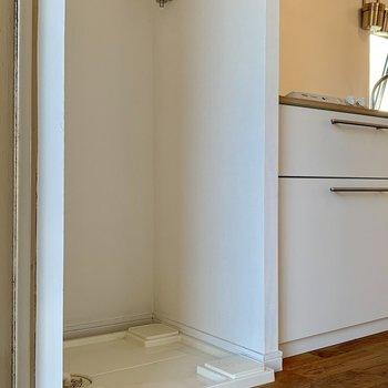 洗濯パンも室内にちゃ~んとありますよ