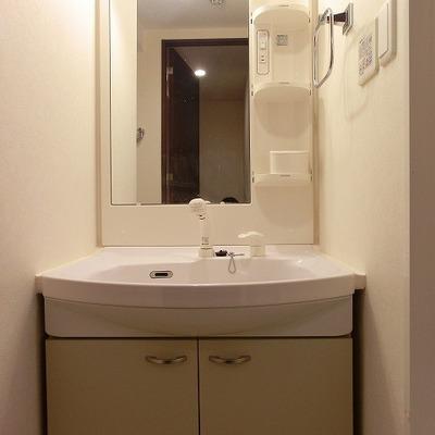 シャンプードレッサーのある洗面台※写真別部屋
