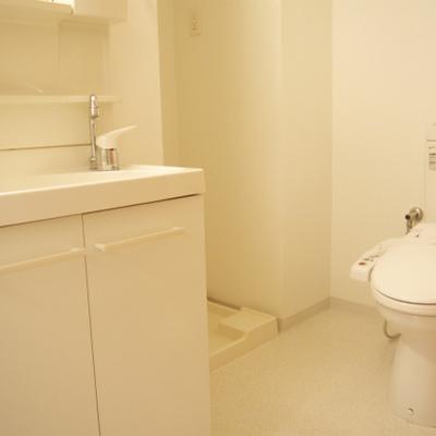 トイレと連なっております※画像は14階