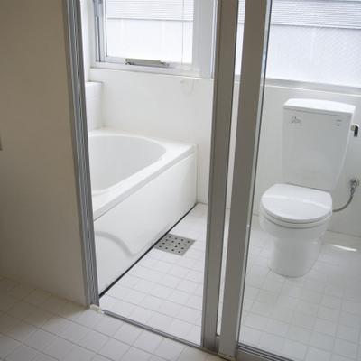 お風呂とトイレは一緒です※写真は前回取材のもの