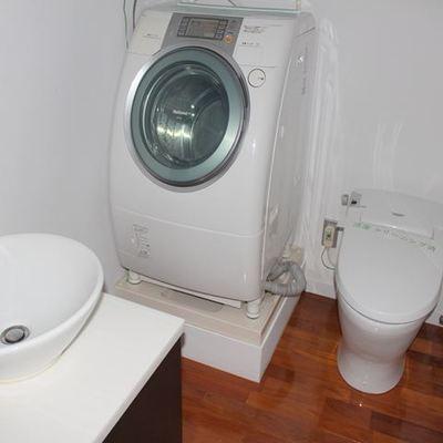 ドラム式洗濯機つき!※写真は別室