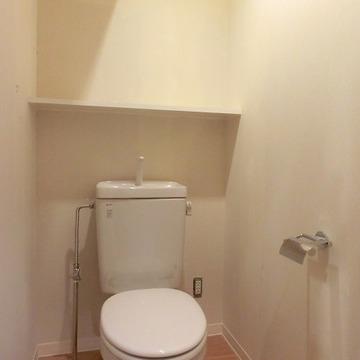 こちらも清潔感のあるおトイレ