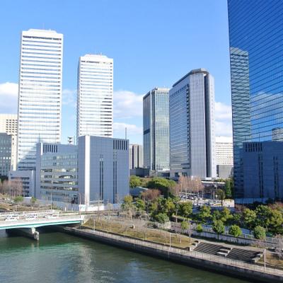 実は大阪ビジネスパークも眺められます!※写真別部屋
