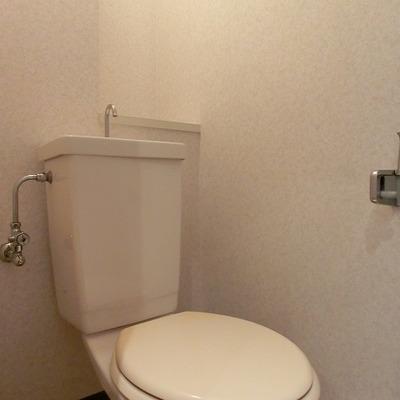トイレもキレイです