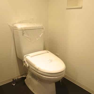 トイレは脱衣所と一緒です。