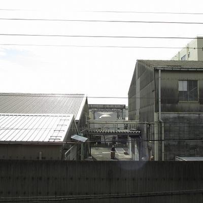 眺望は倉庫ですが通行人を気にしなくていいのがいいですね!