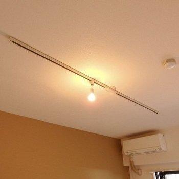 天井にはライティングレールもありますよ!※写真は前回募集時のものです