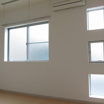 小さい窓がなんかかわいい!
