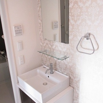 洗面台も独立で嬉しい!※写真は別部屋です。