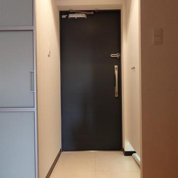 玄関部分。