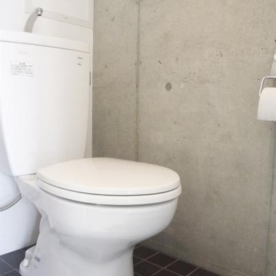トイレは案外シンプル (※写真は同間取り別部屋のものです)