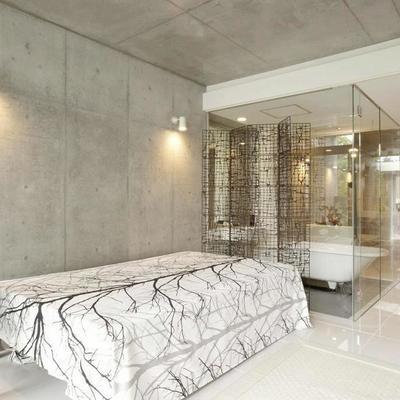 なんといってもこのお風呂。(※写真は同間取り別部屋のものです)