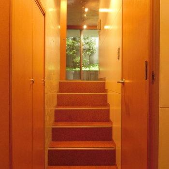 ちょっとした階段