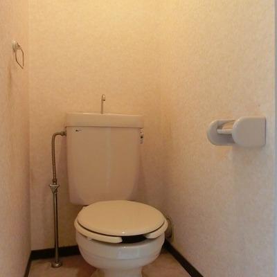 個室トイレなのが嬉しいですね!※写真は前回募集時のもの