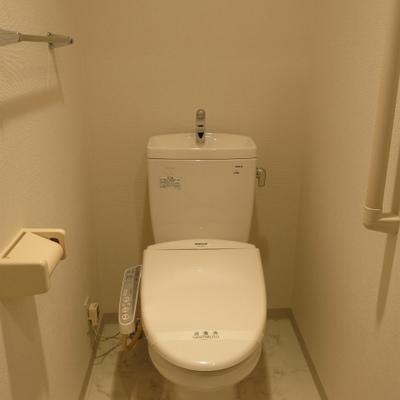 トイレ、キレイ