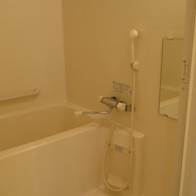 お風呂は普通です。キレイです。