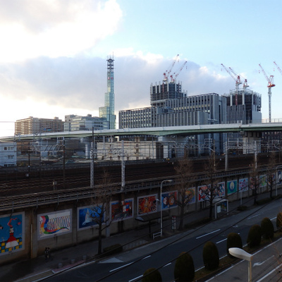 名古屋駅のビル群がめちゃカッコいい
