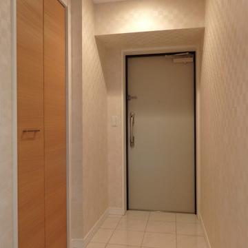 広々玄関。シューズクローゼットもついています