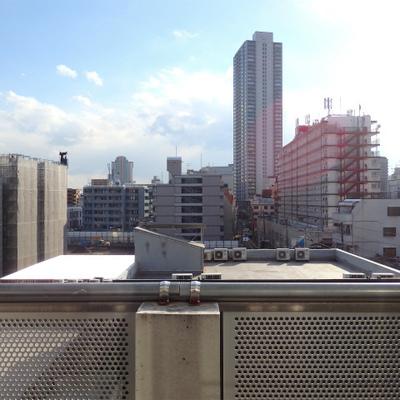 天六駅前のタワーマンションがこの距離