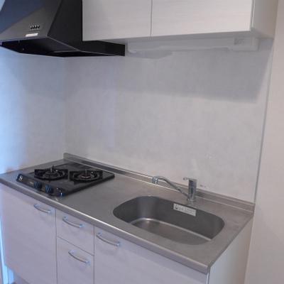 キッチンは2口ガスコンロ!