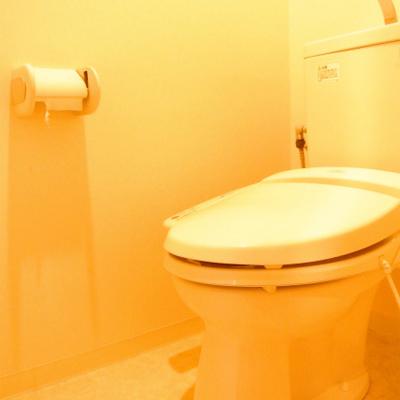 トイレはばっちりウォシュレット