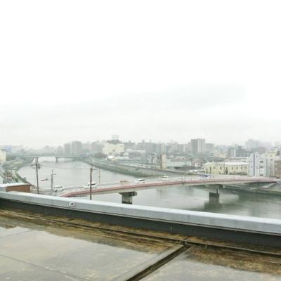 神崎川の眺められる眺望は◎です!