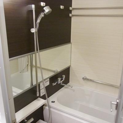 便利なクリックシャワー※写真は別部屋
