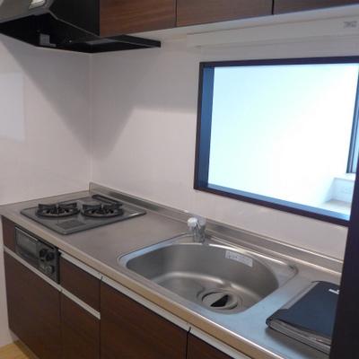 システムキッチン、対面式!嬉しいですよね!