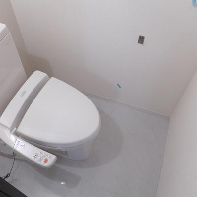 トイレはウォシュレット付き。嬉しい!