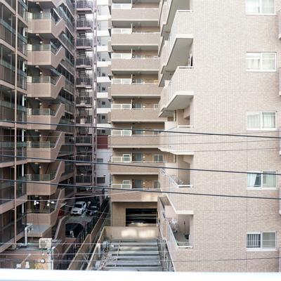 眺望はマンションいっぱい!