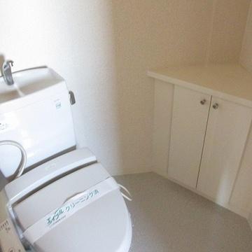 トイレも広々空間!