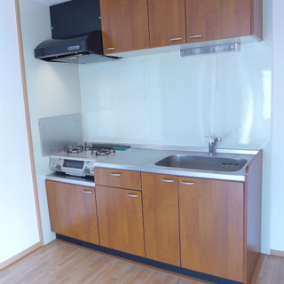 キッチンも広めで、使い勝手は良さそうです!