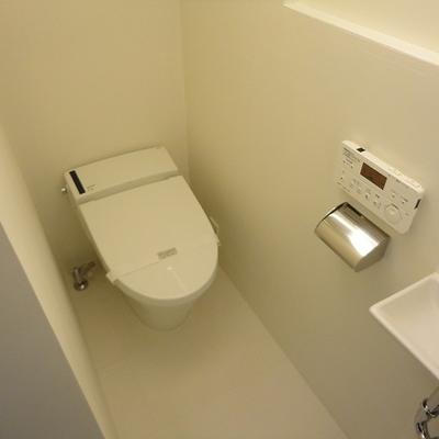完全にセパレートされたトイレです