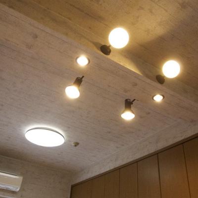 天井の照明が面白かったです!