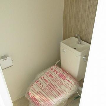 トイレも新しい!