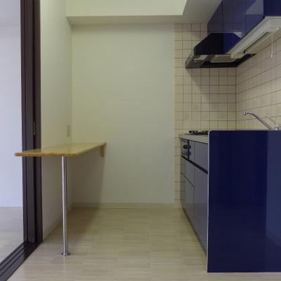 ブルーのキッチンgood!