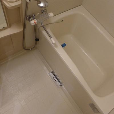 お風呂も十分な広さ!快適です!