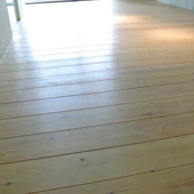 無垢の床なんです※写真は別部屋